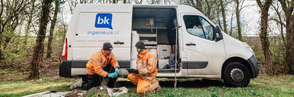 BK ingeneiurs is op zoek naar ervaren/senior veldwerkers voor vestiging IJmuiden en Zoetermeer